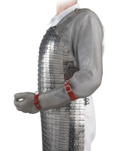 Chainmail Gloves with Full Arm To Shoulder