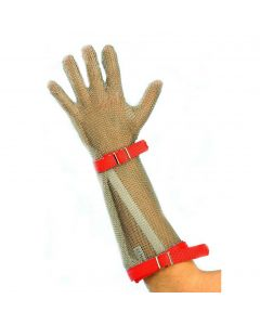 Chainmail Gloves with Forearm - Wristband