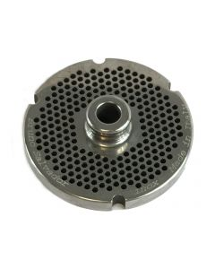 Salvador Size 22 Mincer Plate Long Life with Hub - 3mm
