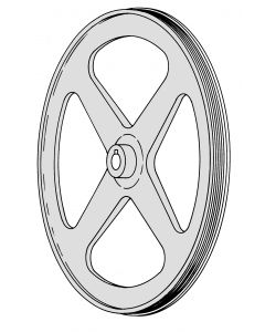 Mincer 2000 - SE 1830 Top Pulley With Bearing