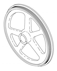 Torrey - ST-200AI Top Pulley Complete